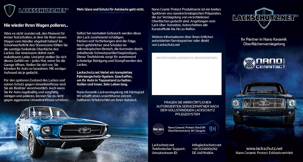 Glanz Fahrzeugaufbereitung Bergkamen | Nano-Ceramic-Protect