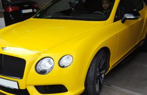 Bentley bei GLANZ